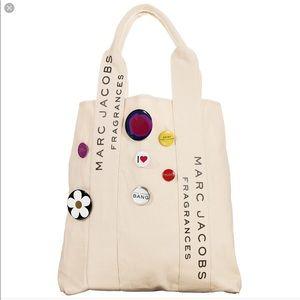 Marc Jacobs Fragrances Canvas Tote Bag, NEW